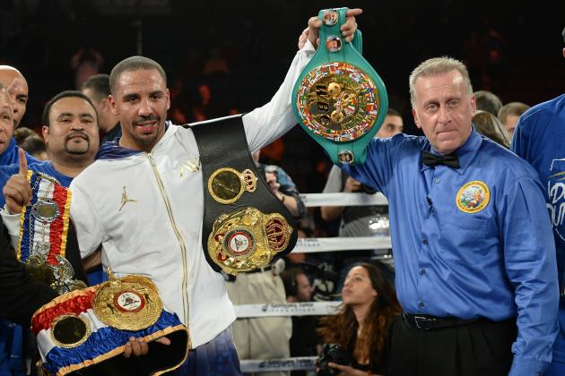 Andre Ward Returns from Long Layoff to Dominate Edwin Rodriguez for Decision Win