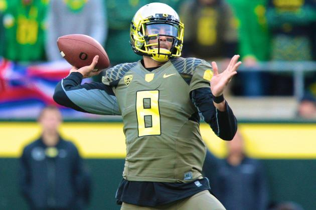 Marcus Mariota Isn't Out of Heisman Race Yet, but Needs Furious Finish