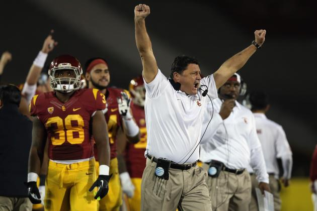 Ed Orgeron Reminding USC What College Football Is All About