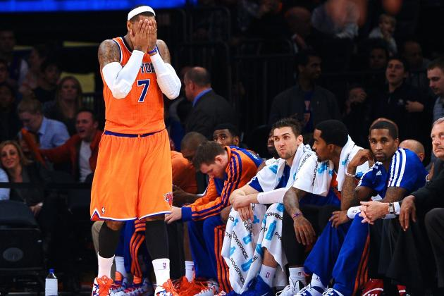 Carmelo Anthony Blasts NY Knicks: 'We Ain't Playing Worth a S*** Right Now'