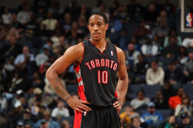 DeMar DeRozan Executes Sick 360 Layup vs. Portland Trail Blazers