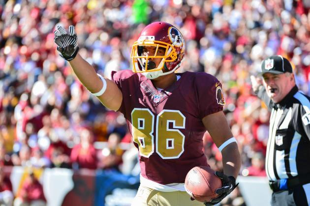 Jordan Reed Injury: Updates on Redskins TE's Head, Likely Return Date