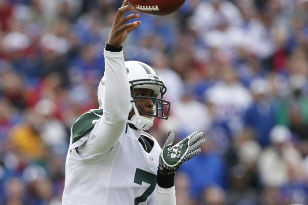 Jets Yank Geno from Game, Put Simms in