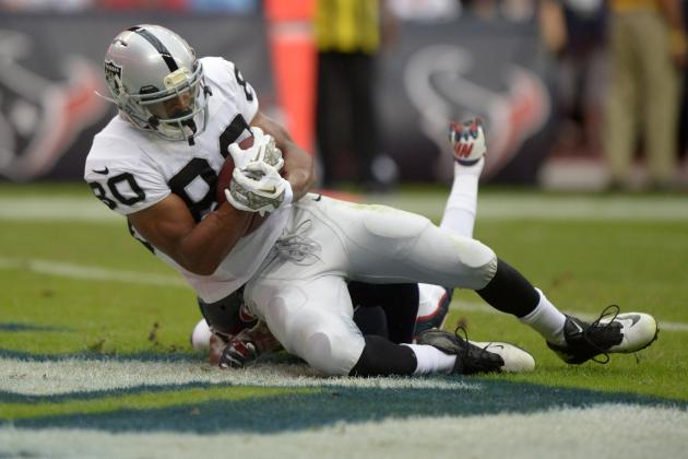 Rod Streater and Denarius Moore's Instant Fantasy Reaction with Matt McGloin