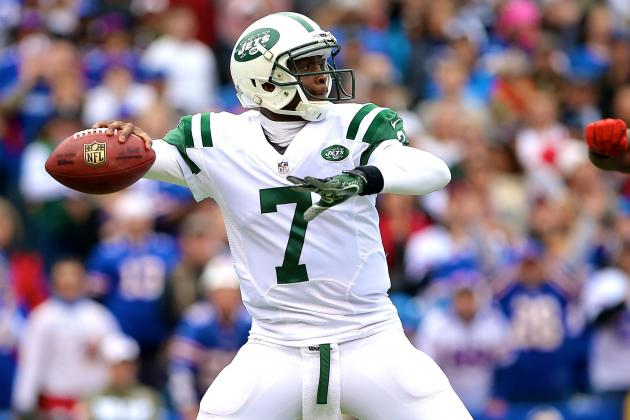 Matt Simms Replaces Geno Smith vs. Bills After 3-Interception Performance