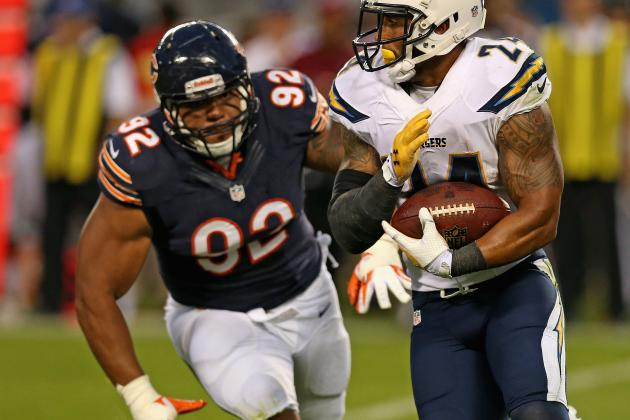 Stephen Paea (Toe) Ruled out for Remainder of Game vs. Ravens