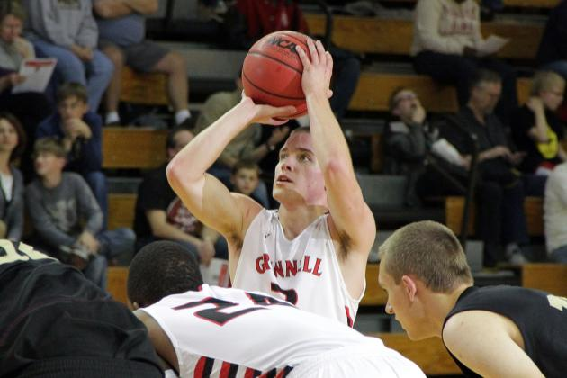 Jack Taylor Scores 109 Points as Grinnell College Defeats Crossroads