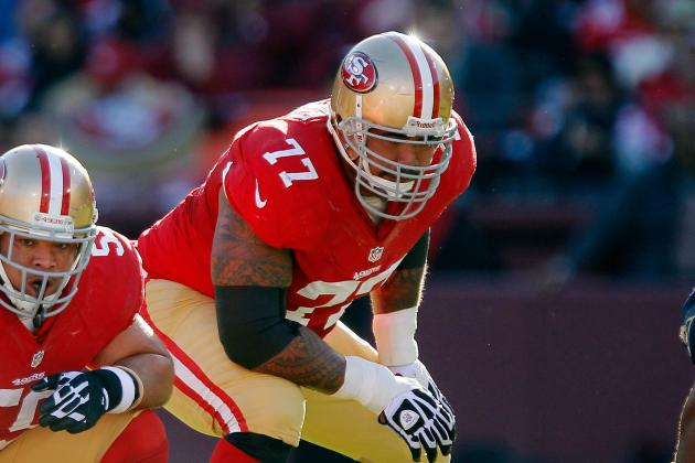 49ers' Mike Iupati Carted to Locker Room