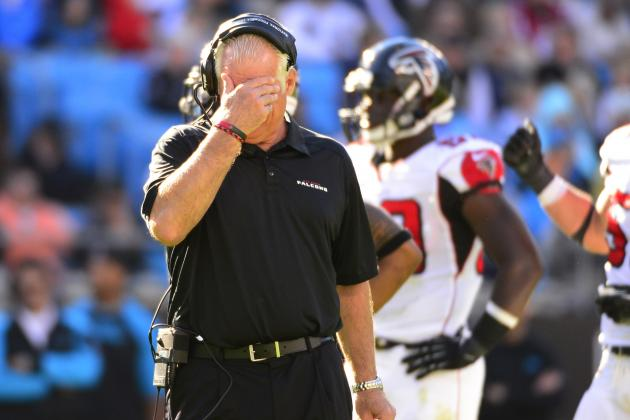 Falcons' Blowout Loss to Bucs Should Be Nail in Mike Smith's Coaching Coffin
