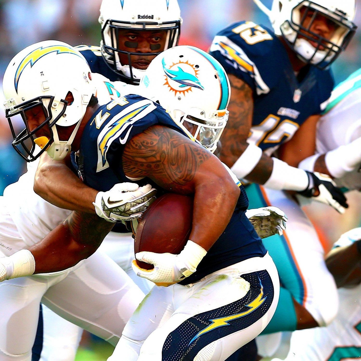San Diego Chargers Current Score: San Diego Chargers Vs. Miami Dolphins: Live Score