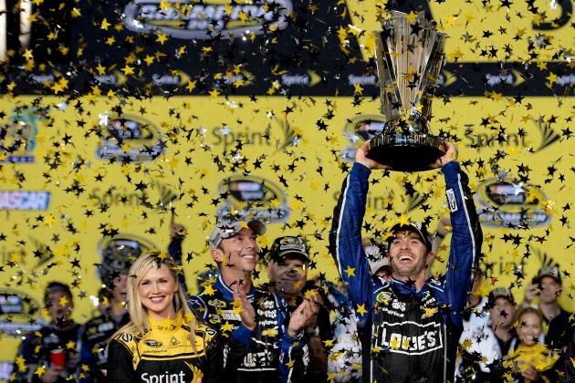 Jimmie Johnson Clinches 6th Career Cup Series Championship