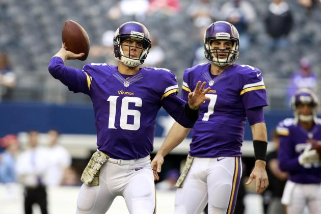 Matt Cassel and Christian Ponder's Instant Fantasy Reaction After Week 11