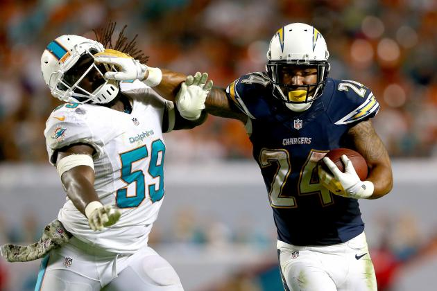 Ryan Mathews' Updated 2013 Fantasy Outlook After Week 11