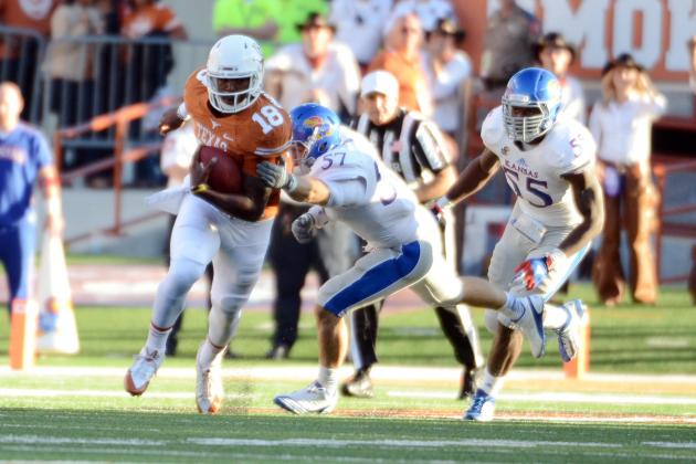 Texas Football: Why Tyrone Swoopes Needs His Own Offensive Package