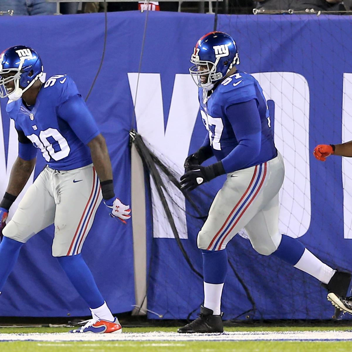 Green Bay Vs. NY Giants: Full Roster Report Card Grades