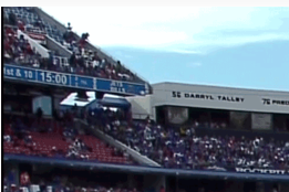 AP News : 2 Hurt After Man Falls from 3rd Deck at Bills Game