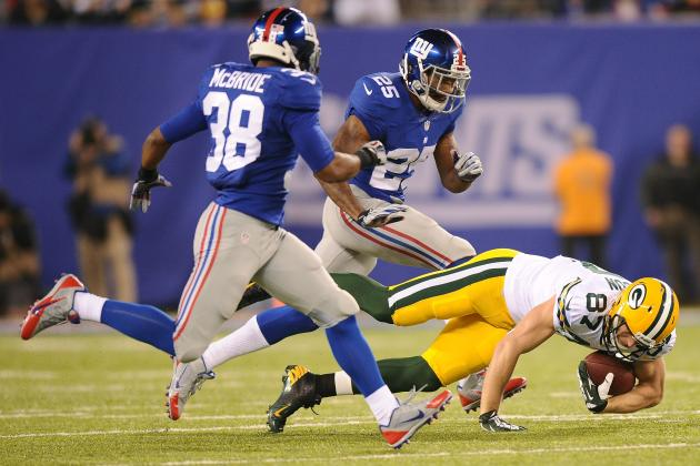 Giants vs. Packers: Best and Worst Performances from Each Side in NFC Clash
