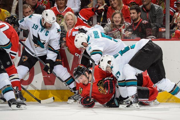 Blackhawks Rebound, Blast Sharks