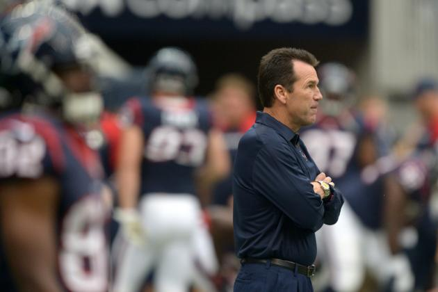 Gary Kubiak's Questionable QB Calls Could Signal End to Stint in Houston