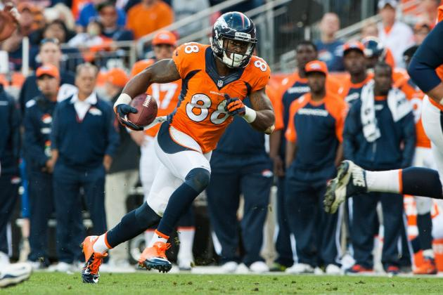 Demaryius Thomas' Instant Fantasy Reaction After Week 11