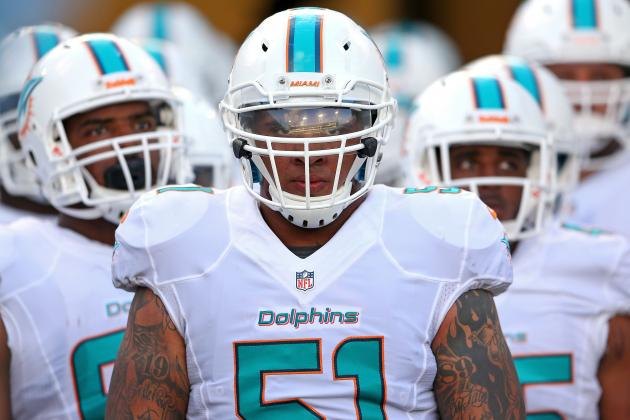 Patchwork Offensive Line Performs Admirably for Dolphins