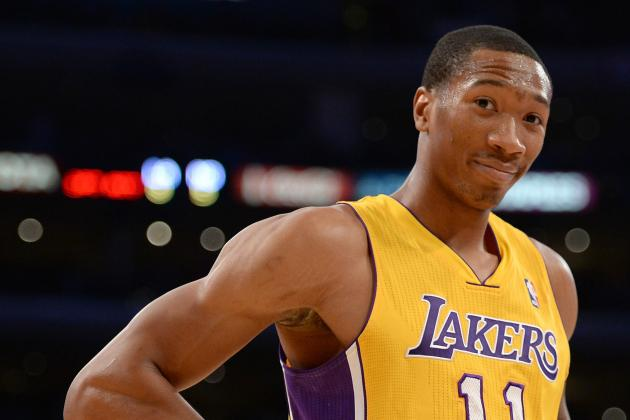 Steve Blake, Wesley Johnson Kick off Alley-Oop Party at Staples Center