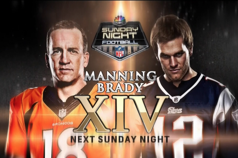 Tom Brady Looks Like Dexter in Latest Sunday Night Football Promo