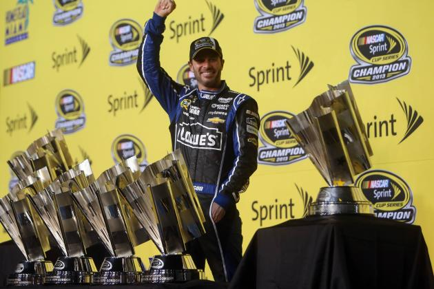 NASCAR Chase 2013: 6-Time Champ Jimmie Johnson Officially Enters Legend Status