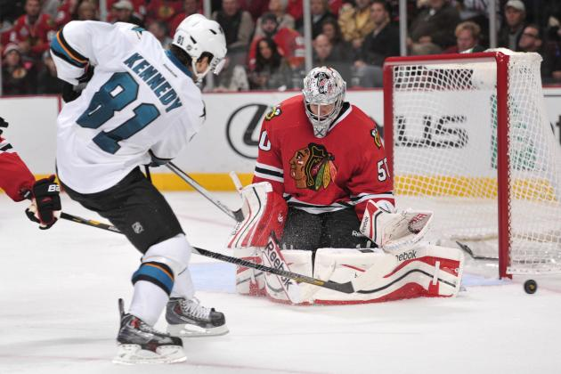 Sharks' Struggles vs. Impressive Hawks Continue