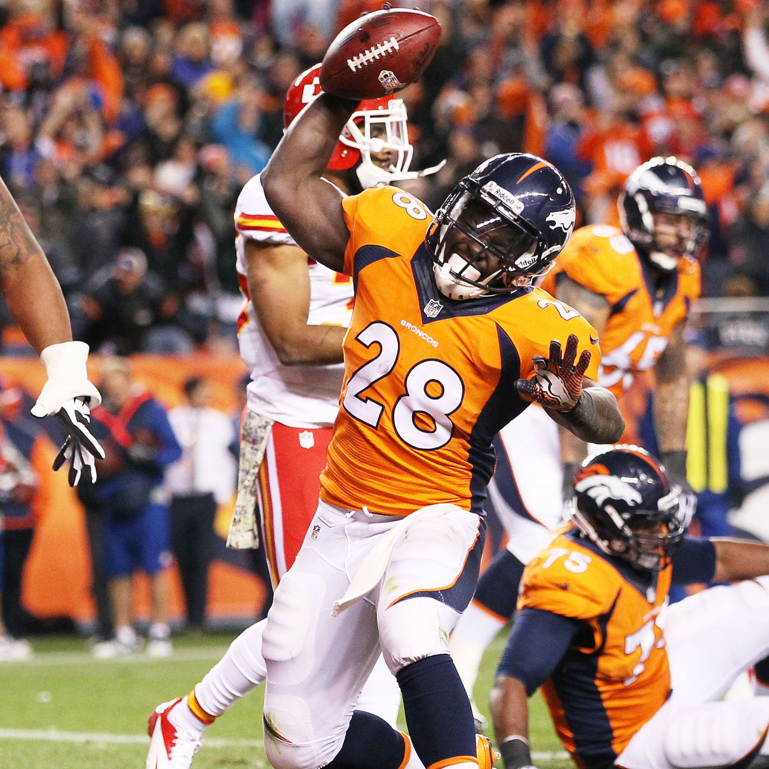 Montee Ball's Instant Fantasy Reaction After Week 11 ...