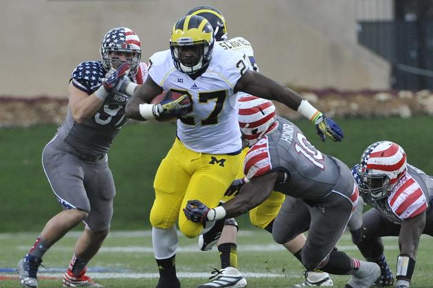 Michigan Football: Can Freshman Running Back Derrick Green Save the Season?