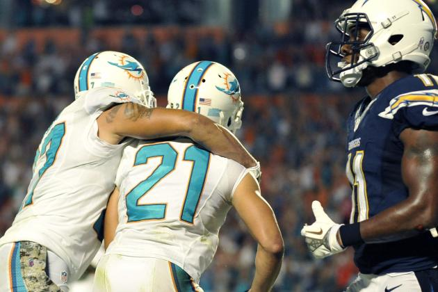 Chargers vs. Dolphins 2013 Results: Miami Holds on for 20-16 Win over SD