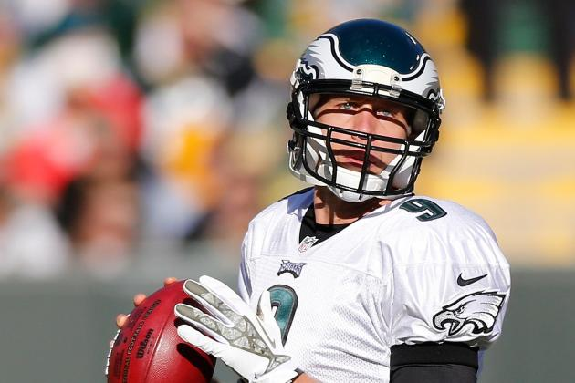 No TD Throws, but Foles Plays Well Again