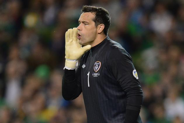 Republic of Ireland Keeper David Forde Determined to Keep Place