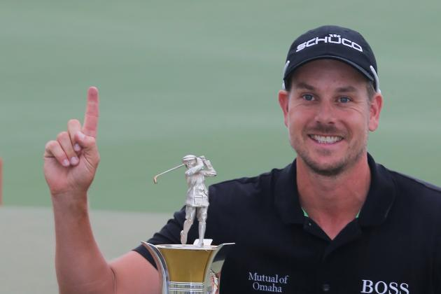 Henrik Stenson First Golfer to Win Race to Dubai and FedEx Cup in Same Season