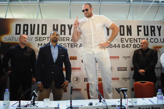 Tyson Fury Slams David Haye, Calls out Wladimir Klitschko and Deontay Wilder