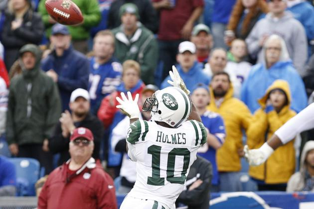 Jets' Santonio Holmes Satisfied with His Personal Performance