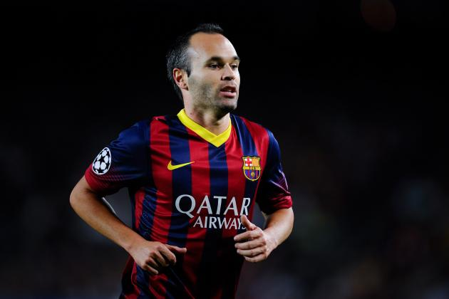 Andres Iniesta Reportedly 'Aware' of Manchester United's Transfer Interest