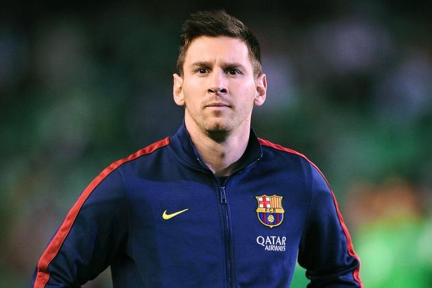 Lionel Messi Rejects Claims He Is Unhappy with Barcelona Boss Gerardo Martino