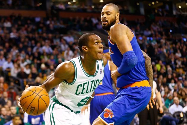 Rajon Rondo Trade Rumors: NY Knicks Make Garbage Offer for Celtics Point Guard