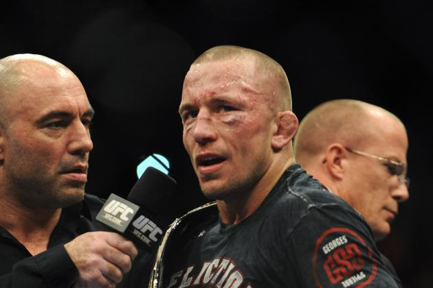 Georges St-Pierre Absorbed Record Damage vs. Johny Hendricks
