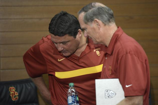 Pat Haden Must Do Due Diligence in USC Coach Search Despite Ed Orgeron's Success
