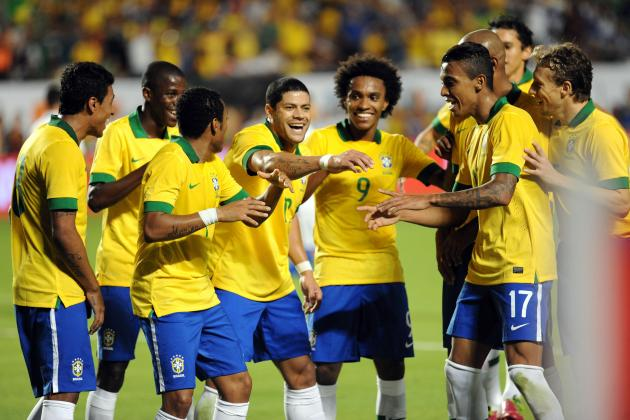 How Brazil Are Coping with the Weight of World Cup Expectation