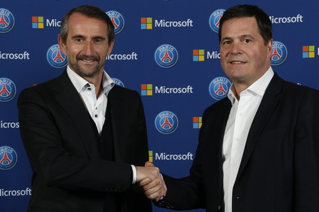 Microsoft and Paris Saint-Germain Sign New Partnership