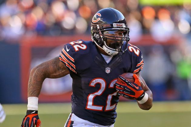 2013 Fantasy Football Running Back Rankings: NFL Week 12
