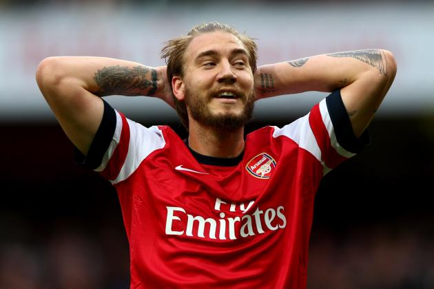 Nicklas Bendtner to Consider Arsenal Exit in January