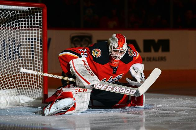 The Flames' Goaltending Is…Not Good