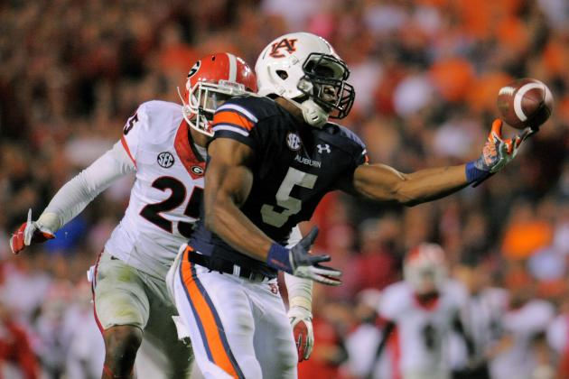 Auburn Football: Did Tigers Beat Georgia with a Great Catch, or a 'Fluke?'