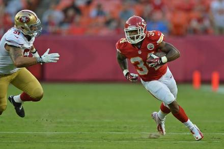 Knile Davis: Recapping Davis's Week 17 Fantasy Performance