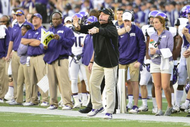 Big 12 Teleconference News & Notes: Blake Bell's Status, TCU's Bizarre Penalty